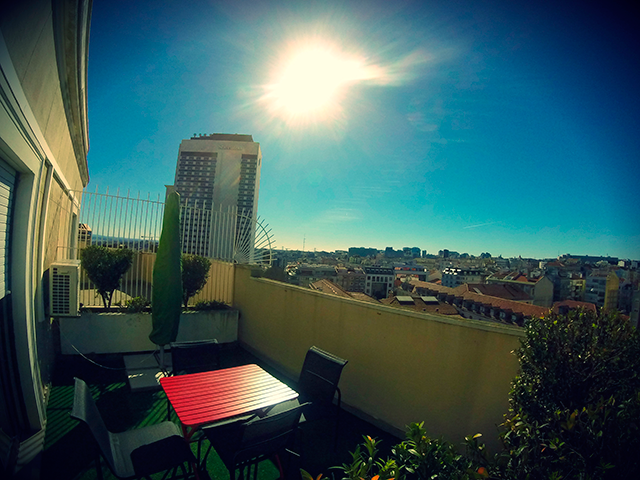 Office Balcony View