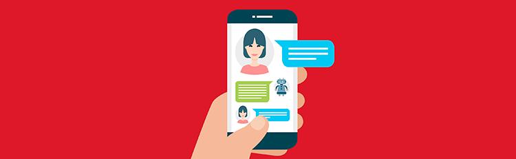Utilização de chatbots e interfaces de conversação
