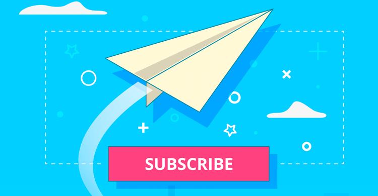 Subscrever newsletter - Email marketing