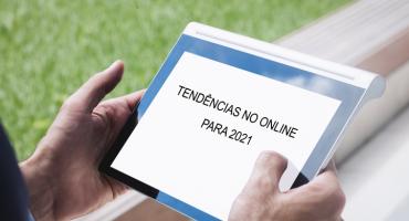 tendências online para 2021